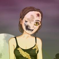 Zombie Girl Dressup