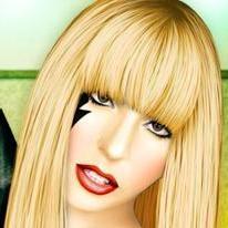 Makeup of Lady Gaga