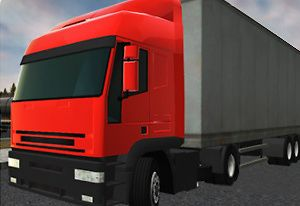Semi Driver 3D Trailer Parking