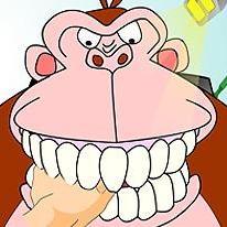 Gorilla Dentist
