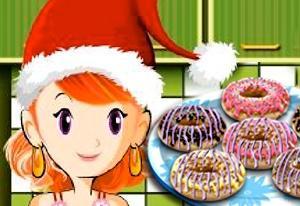 Sara's Cooking Class: Christmas Doughnut Cookies