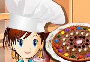 Sara's Cooking Class: Chocolate Pizza