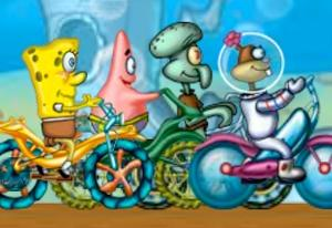 SpongeBob: Cycle Race